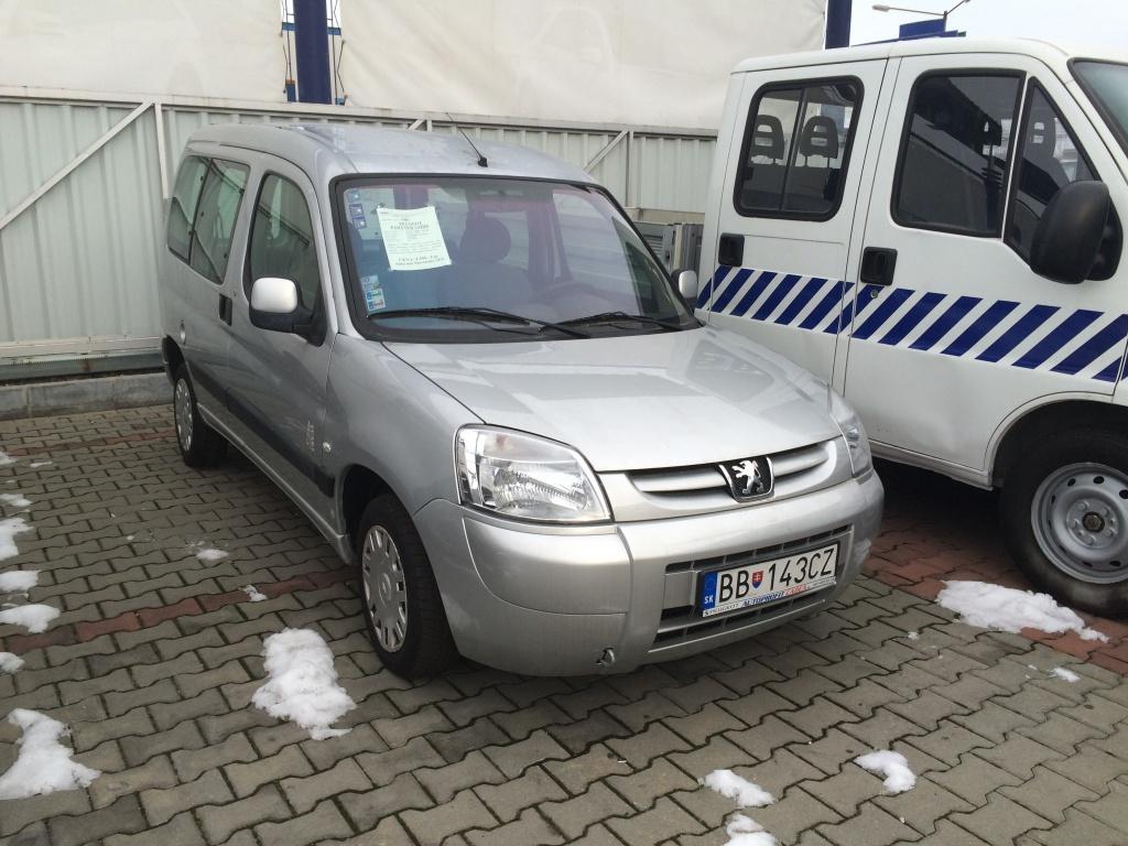 Peugeot Partner 1.6HDi SK ŠPZ